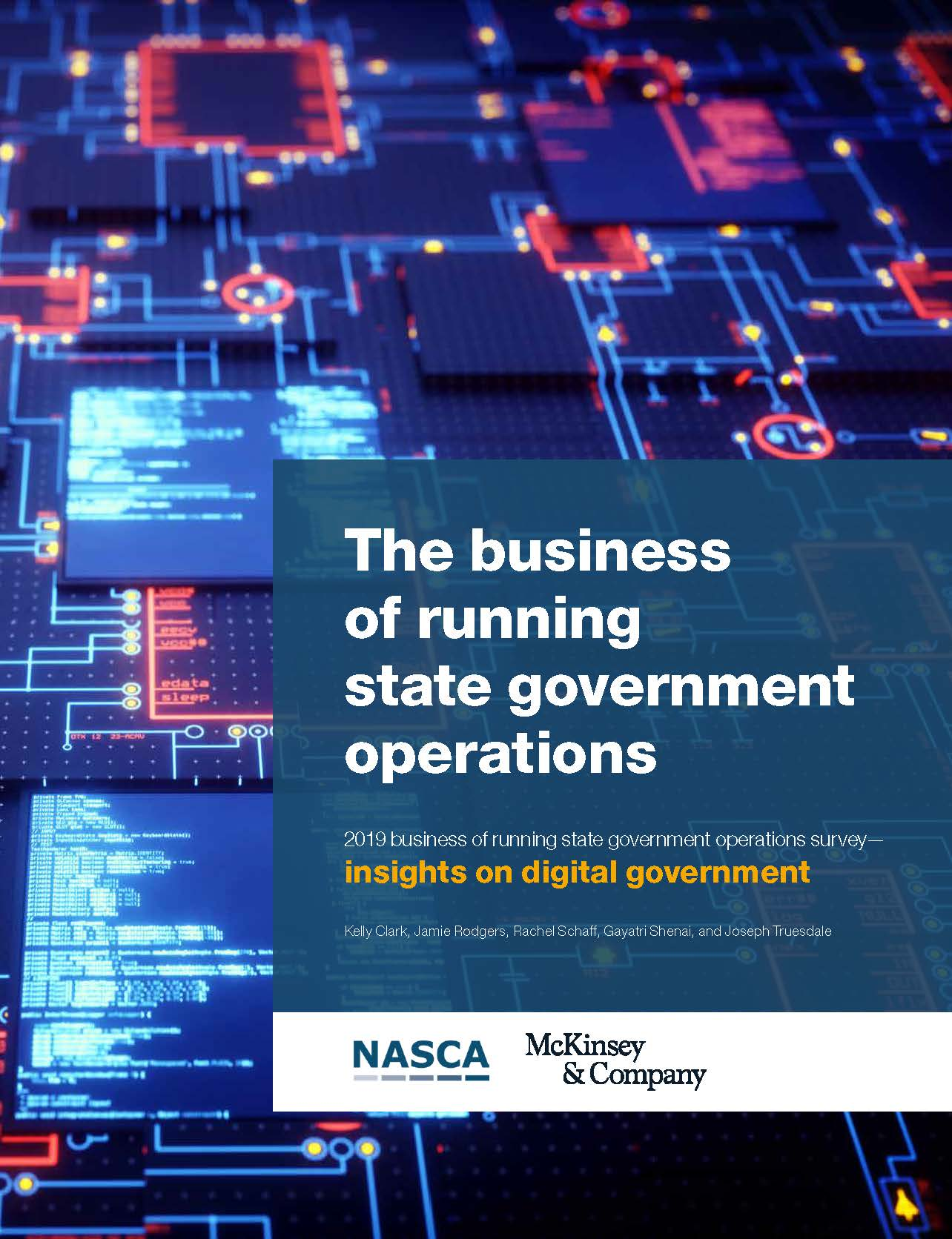 State Chief Administrator's Survey - Insights on Digital Government