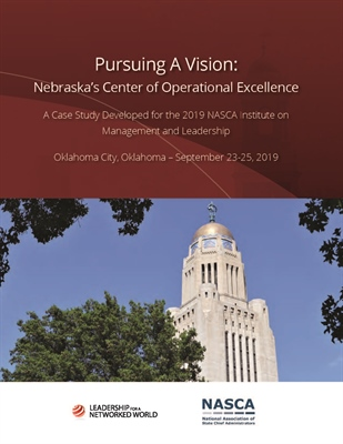 Pursuing A Vision: Nebraska's Center of Operational Excellence